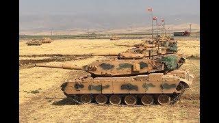 TURKISH ARMY enter AFRIN / Syria