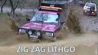 Lithgo ZIG ZAG 4WD trip In The Rain ! INSAIN MUD Deep Water Crossings
