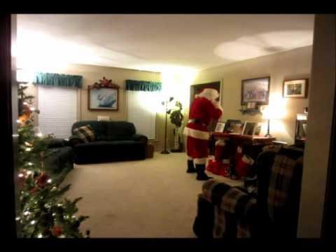 Santa Claus Caught On Camera Doovi