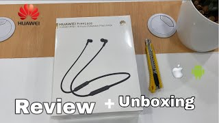 Huawei FreeLace Bluetooth Quick unboxing + Review