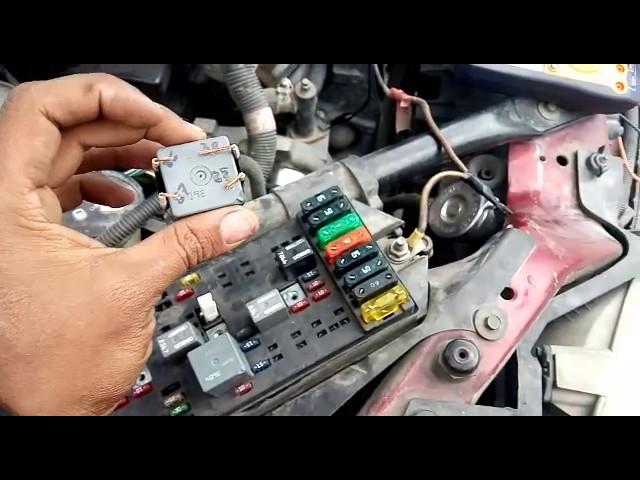 Chevrolet Venture Quema Fusibles De Ventiladores 1a Parte Youtube