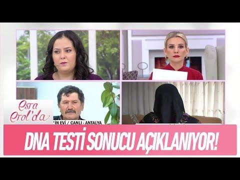 Seba ve Muhammed Bey arasında yapılan DNA testi sonucu açıklandı! - Esra Erol'da  18 Aralık 2017