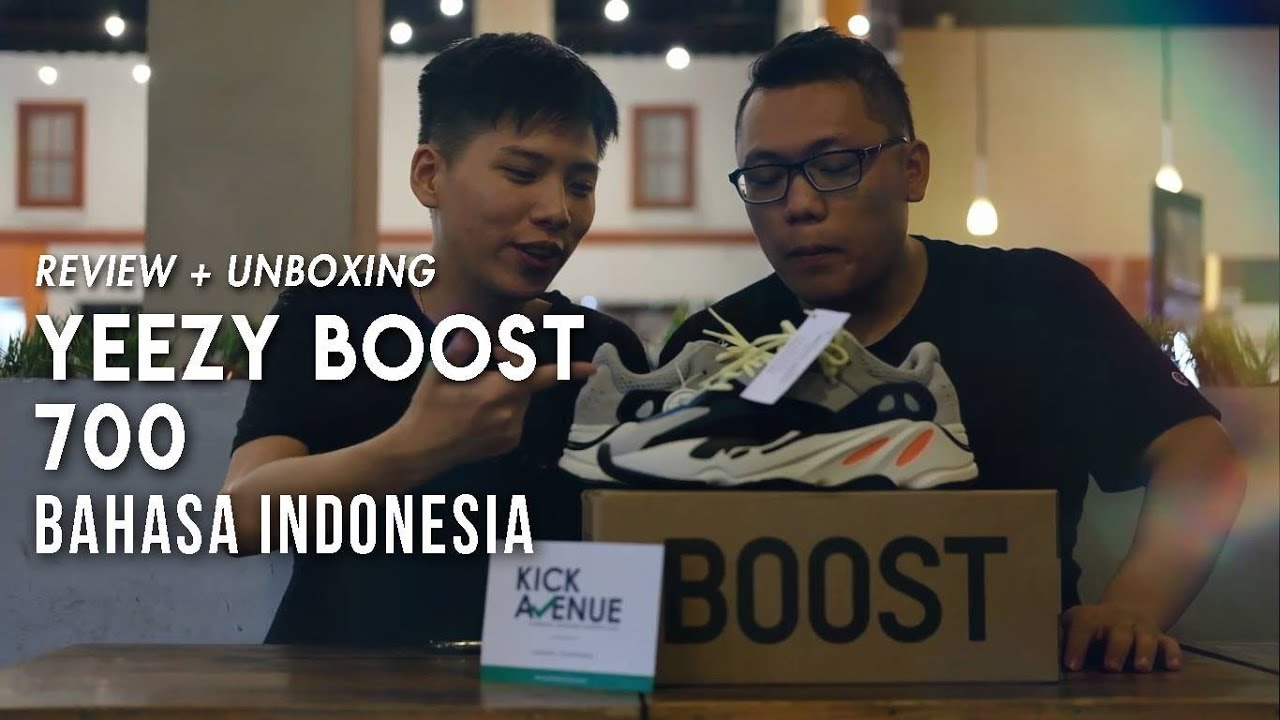 separation shoes 6953f bbeb0 Review  Unboxing Adidas Yeezy 700