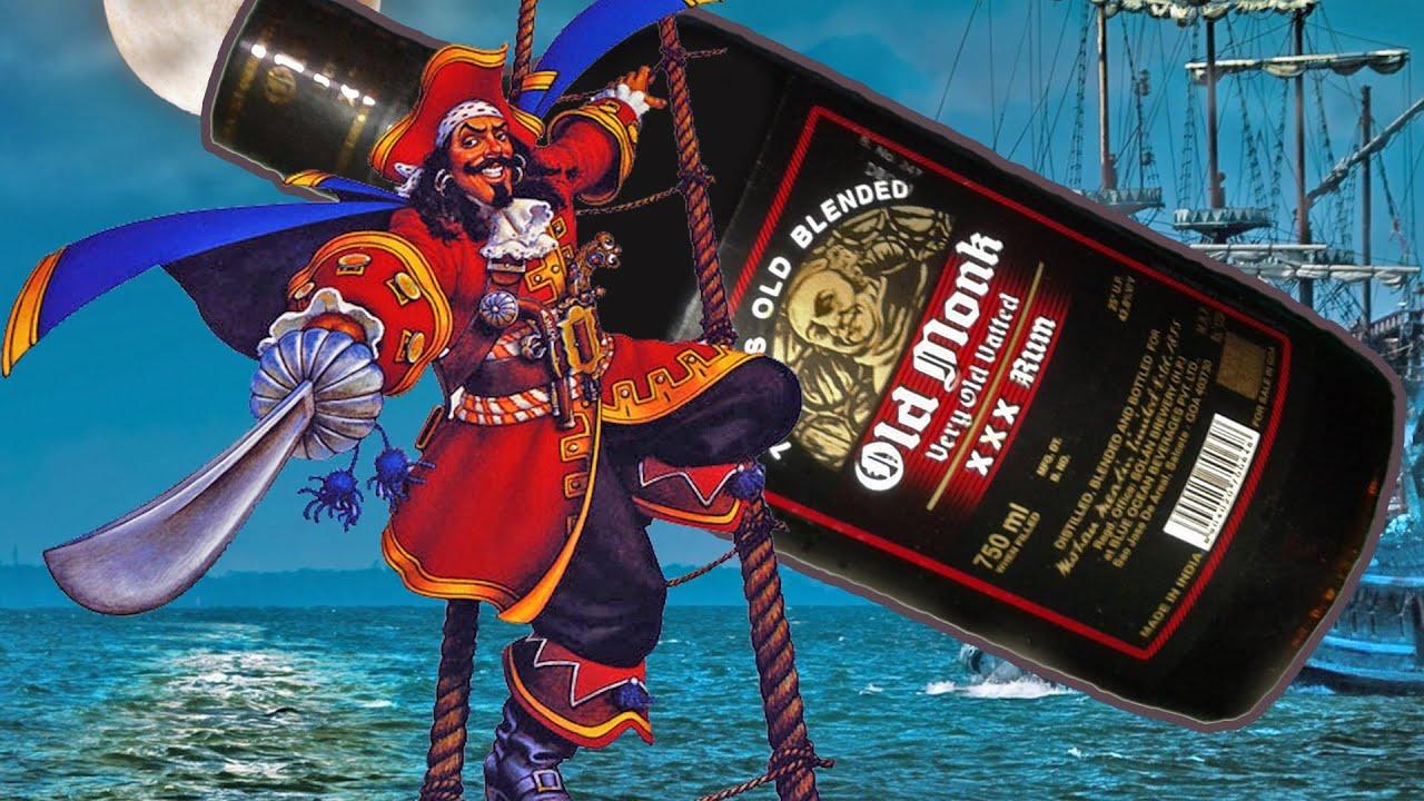 Пираты пьют ром картинки