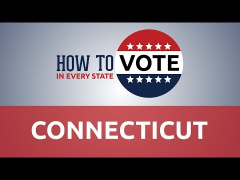 Wendy - Voting In Connecticut With Links & Info