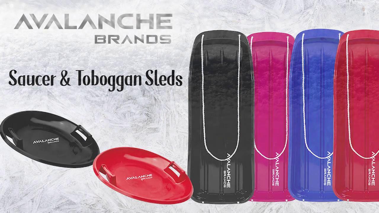 Avalanche Brands - Saucer & Toboggan Sleds