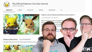 React: Pokemon Switch Trailer (Pokemon Let's Go Pikachu!)