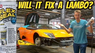 Can Flex Seal Fix A Cracked Lamborghini Murcielago Transmission?