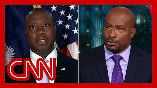 Van Jones reacts after Scott says US is 'not a racist country'