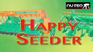 Happy Seeder Technology: Beneficial for Farmers