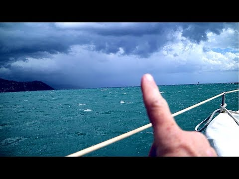 Waterspouts and a Dragging Anchor | ⛵ Sailing Britaly ⛵ Ep.