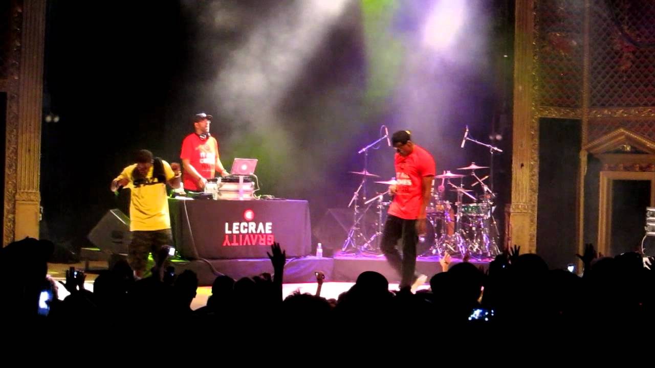 Lecrae The Drop, Gravity and Falling Down Live in Denver 9 ...