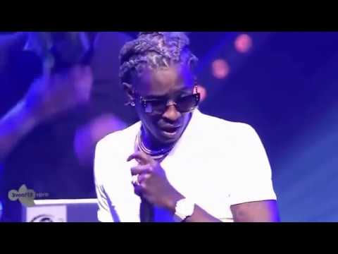 Young Thug With THat & Power Live