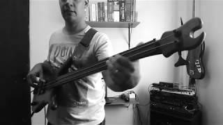 Alamo Bass - Jamiroquai Radio with 2 Strings Bass!!!