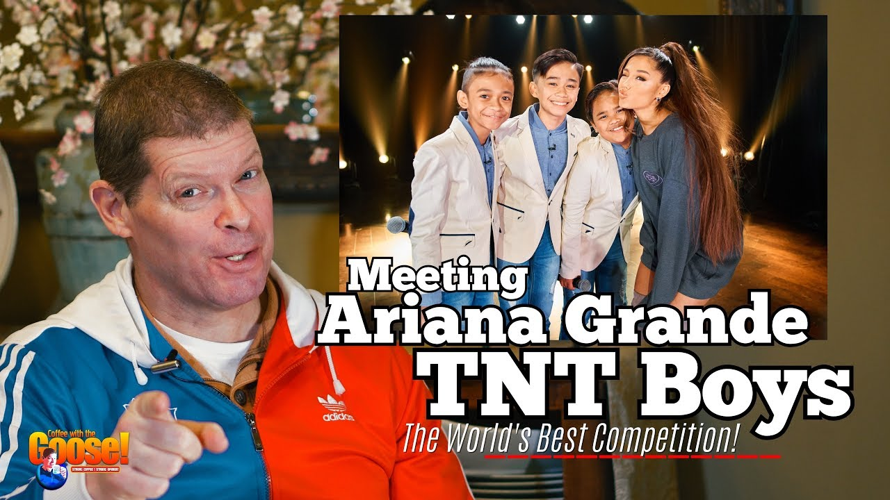 Meeting Ariana Grande : TNT Boys ( Reaction) - the World's Best