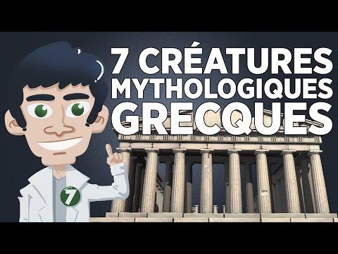 7 Créatures Mythologiques Grecques