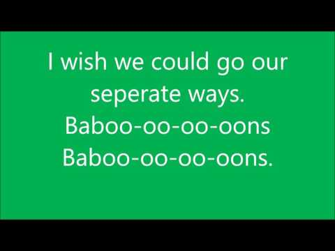 The Lion guard, Baboons lyrics
