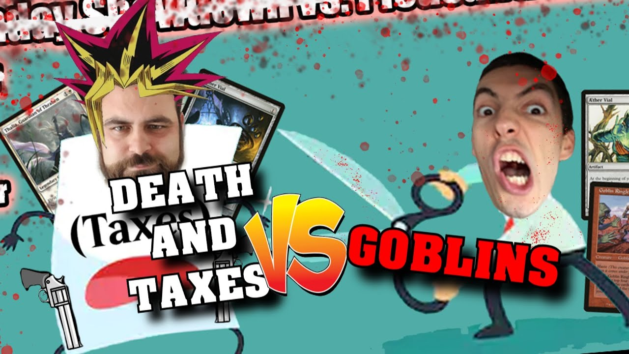 Mogg Monday Showdown - Death and Taxes vs Goblins, vs Jim Davis! - Modern, Legacy, Commander