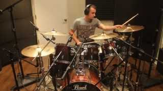 i prevail - blank space drum cover