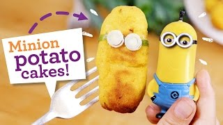 How To Make Minions! Fun And Easy Potato Cake Recipe (dairy Free, Gluten Free, Egg Free, Nut Free)