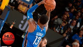 Paul George on fire, 15 pts in 3rd Qtr | Okc Thunder vs Warriors