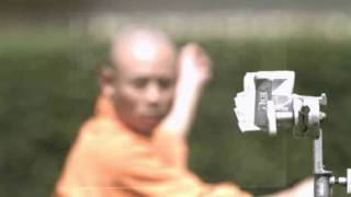 Shaolin Monk Throwing Needle Through a Piece of Glass [1000 FPS camera]