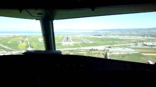*Cockpit View* Aegean 110 - Landing in Thessaloniki