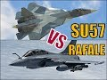 sukhoi su57 vs rafale comparison | russia vs france air forces | top fighter aircrafts nowadays 2019