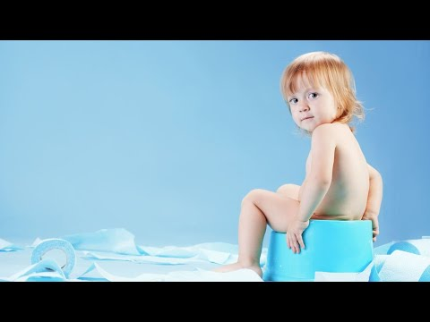 Getting Child Used to Sitting on Toilet | Potty Training