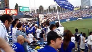 2007年のとある横浜VSヤクルト戦、神宮球場での試合開始前の応援...