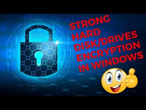 Full Disk Encryption In Windows - Disk Encryption