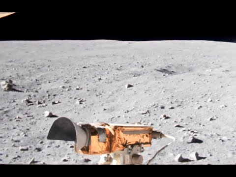 Apollo 16 in 60fps: Rover Traverse to Station 4