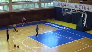 1-й конкурс. 3-х очковые броски sports.dp.ua.avi