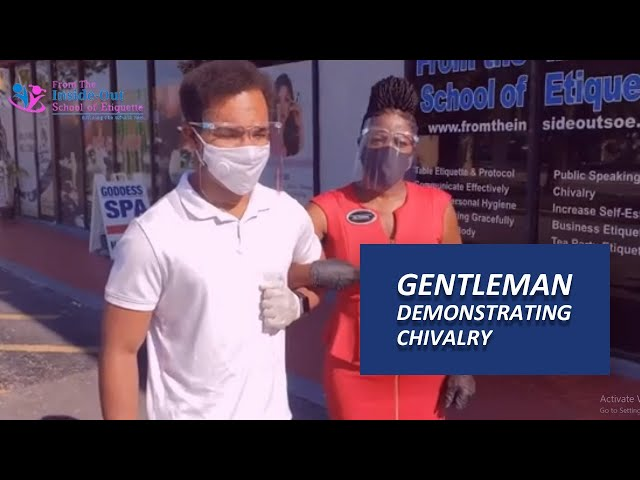 Escorting Lady to the Car | Gentleman Etiquettes for Escorting Lady to the Car & Seating Her