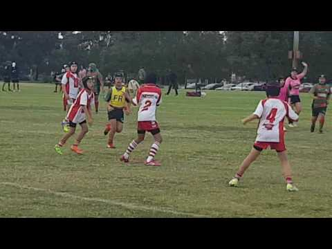 U10's South Perth Lions vs Ellenbrook Rabbitohs Pt 1 11/06/2017