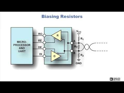 Rs 485 Circuit Implementation Youtube
