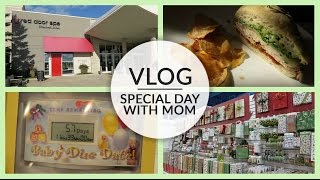 Vlog | Special Day with Mom | November 13, 2015