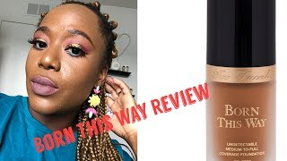 Too Faced x Jackie Aina Born This Way Review