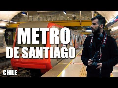 Chile | Metro de Santiago | El más moderno de América | Línea 6