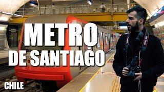 #Chile | Metro de Santiago | El más moderno de América | Línea 6 | Soy tico - #SoyTico - Chile