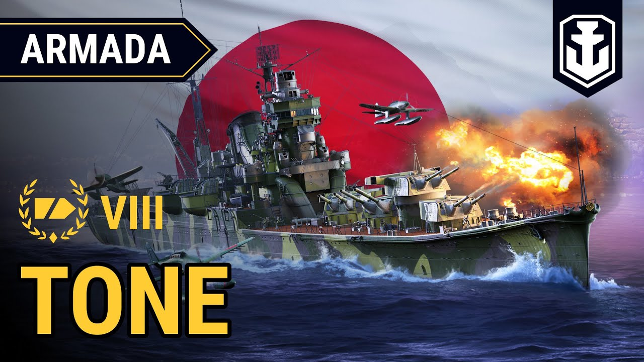 Armada: Tone - guide to using the Japanese Tier VIII cruise | World of Warships