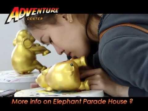 Elephant Parade House in Chiang Mai, Thailand