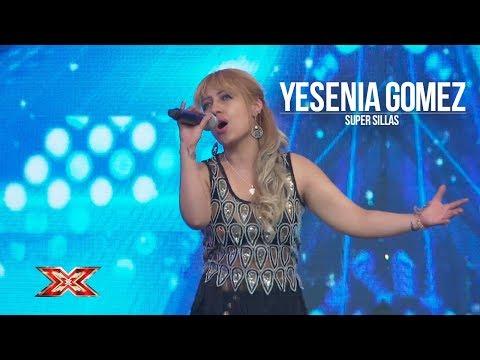 VIDEO: Yesenia Gomez interpreta una intensa canción que estremece a los jueces