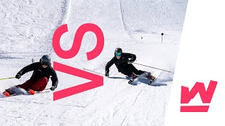SKI-INSTRUCTOR BATTLE - DSV vs DSLV | Turn Battle World Skiers League