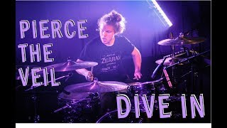 "PIERCE THE VEIL - ""DIVE IN"" - DRUM COVER BY FREDDY VELASCO"