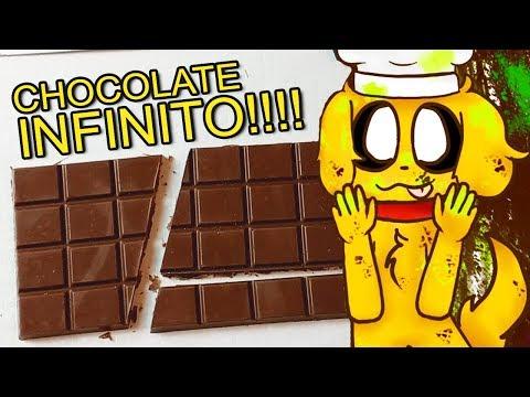 ¡CÓMO HACER CHOCOLATE INFINITO! 🍫😍  ¡100% FUNCIONAL! ASDFASDFASDFSADFS