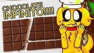 ¡CÓMO HACER CHOCOLATE INFINITO! ��  ¡100% FUNCIONAL...