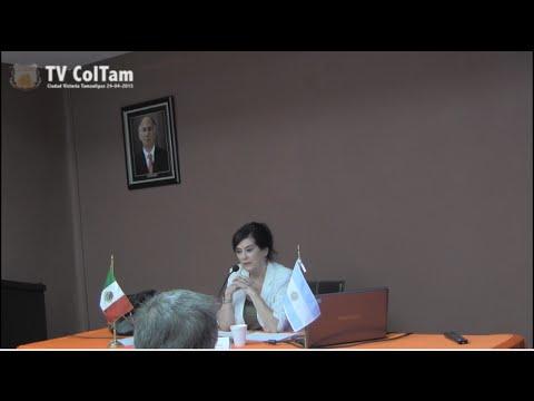 Dra. Isabel Blanco Seminario Internacional Nuevas Expresiones de la Democracia en America Latina