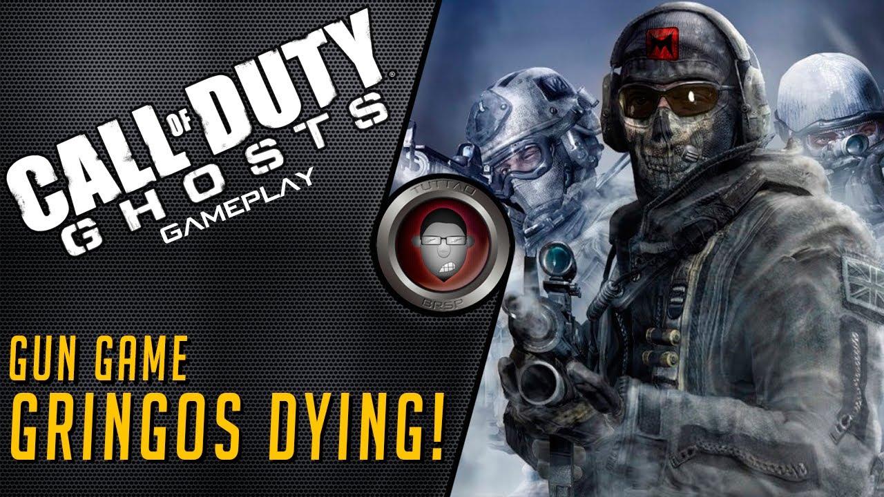 COD GHOSTS - Gun Game - Gringos Dying