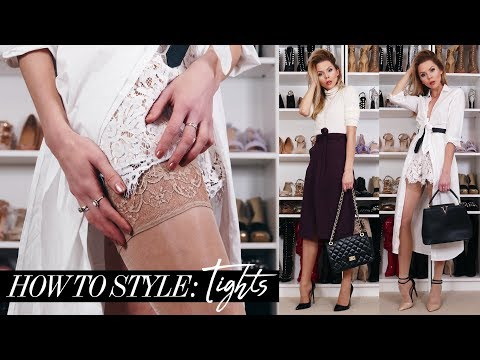 How To Style: Tights For Spring + LOOK BOOK